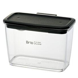 保存容器 Brio ブリオ キッチンポット スリム 調味料入れ 計量スプーン付き 積み重ね ( 保存ケース スパイスポット スタッキング プラスチック保存容器 調味料容器 調味料ケース スパイス容器 パッキン付き )