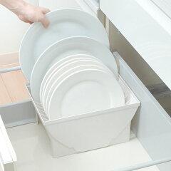 キッチン収納ケースディッシュスタンドLシステムキッチン引き出し用トトノ