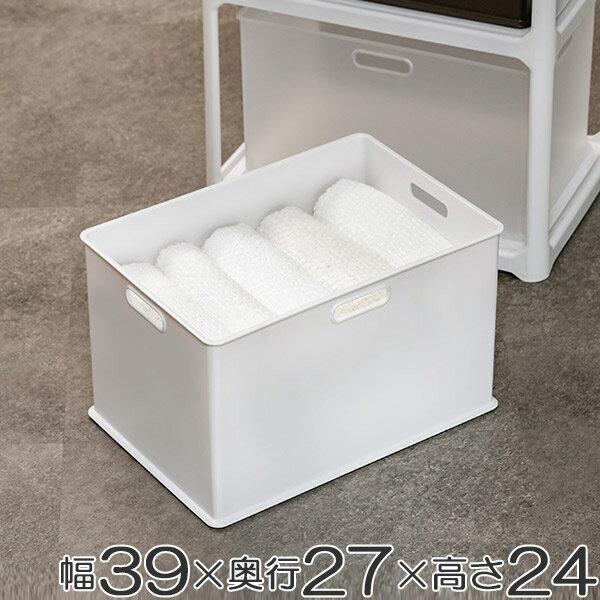 収納ボックス 収納ケース squ+ インボックス L ( 収納 カラーボックス インナーボックス 横置き おもちゃ箱 プラスチック コンテナ 積み重ね スタッキング 小物入れ インナーケース 小物収納 小物 )