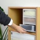 収納ケース ポスデコ A5サイズ 浅型3段 カラーボックス用 ( 収納ボックス 小物収納 収納用品 )