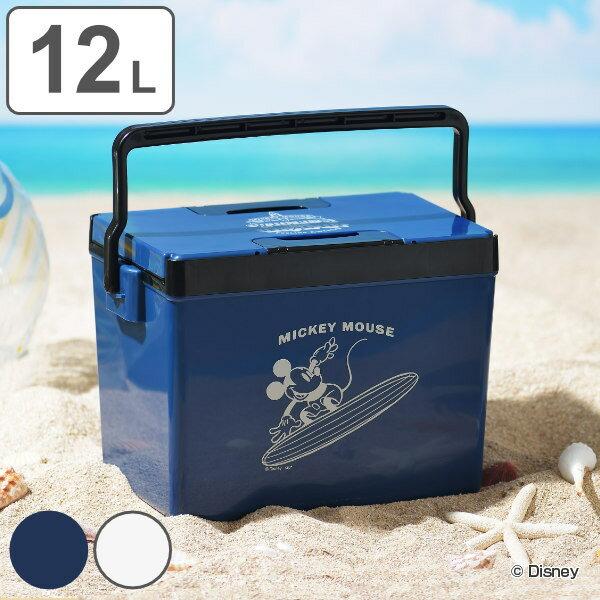 クーラーボックス 両開き ミッキーマウス 12L UMI ( クーラーBOX アウトドア BBQ 保冷 クーラーバッグ アウトドア用品 キャラクター ミッキー かわいい おしゃれ ホワイト )