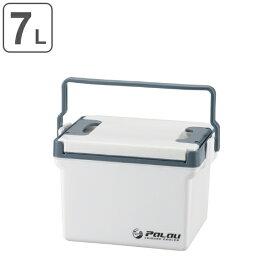 クーラーボックス ハードタイプ パラオ 7L 両開き 小型 ( 保冷 クーラーバッグ アウトドア用品 クーラーBOX アウトドア クーラー BBQ グッズ 釣り バーベキュー 冷蔵ボックス )