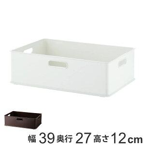 収納ボックス 収納ケース インボックス M プラスチック 日本製 ( 小物入れ 収納 カラーボックス インナーボックス おもちゃ箱 コンテナ 積み重ね スタッキング 小物収納 インナーケース ケ