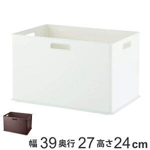 収納ボックス 収納ケース インボックス L プラスチック 日本製 ( 小物入れ 収納 カラーボックス インナーボックス おもちゃ箱 コンテナ 積み重ね スタッキング 小物収納 インナーケース ケ