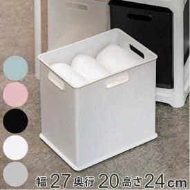 収納ボックス 収納ケース ナチュラ インボックス SD プラスチック 日本製 ( 小物入れ 収納 カラーボックス インナーボックス おもちゃ箱 コンテナ 積み重ね スタッキング 小物収納 インナーケース ケース ボックス )