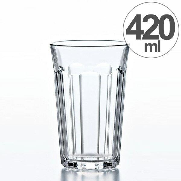 ガラス コップ ハイボールグラス タンブラー 420ml ( グラス ガラス食器 食器 ハイボール ガラスコップ カップ 業務用 食洗機対応 )