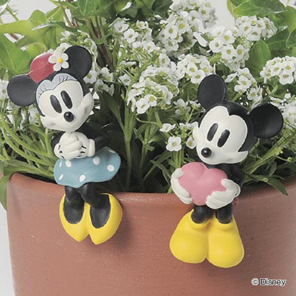 ハンギングオーナメント ミッキー ミニー ( ミッキーマウス ミニーマウス ガーデンピック ガーデンマスコット ディズニー エクステリア セトクラフト かわいい おしゃれ )