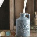 トイレブラシ 陶器 vintage ( 清掃 掃除 便器 クリーナー サニタリー おしゃれ アメリカンヴィンテージ )