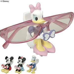 メガネスタンド ミニ ディズニー ( メガネ 収納 スタンド Disney ミッキー ミッキーマウス ミニー ミニーマウス ドナルド ドナルドダック デイジー 眼鏡スタンド めがねスタンド メガネ置