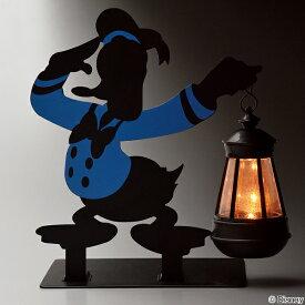 ソーラーライト ドナルドダック LEDライト 光センサー付き 電球色 ガーデンライト ( 送料無料 ガーデン ライト 屋外 庭 LED ソーラー 置き型 太陽光充電 コードレス 防雨仕様 ドナルド ディズニー インテリア おしゃれ )