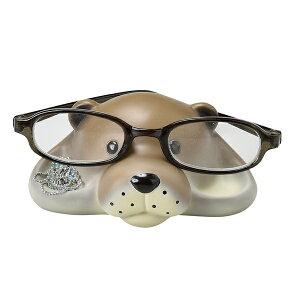 メガネスタンド カワウソ アクセサリートレー 収納 ( メガネ 眼鏡 スタンド アクセサリー めがねスタンド メガネ置き グラススタンド めがね サングラス 卓上 アクセサリー収納 ピアス 指