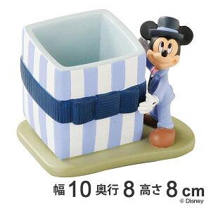 ミニプランター ギフト ミッキーマウス ( 植木鉢 鉢 園芸用品 庭 お庭 玄関 お部屋 インテリア コンパクト 小物 おしゃれ ミッキー ペン立て )