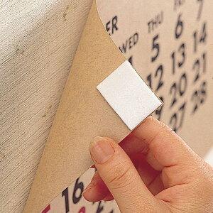 両面テープ イージーオンオフテープ お徳用 あとのつかない両面テープ ( 粘着テープ はがせる テープ 画鋲不要 押しピン不要 ガラス面 壁面 コンクリート 写真 ポスター 穴を開けない 穴を