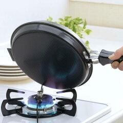 フライパン両面焼き丸型お好み焼き・ホットケーキパン鉄製IH対応