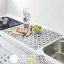 調理台マット シリコン キッチントップ保護マット 60×75cm ( シリコン製マット 調理マット 大判サイズ キッチン保護…