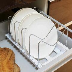 フライパン収納縦置き・斜め置き2wayフライパン・鍋フタスタンド伸縮式Soroelusmart