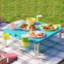 ピクニックテーブル レジャーテーブル 角型 アウトドア ( テーブル 折りたたみテーブル ハンディーテーブル バタフライレジャーテーブル ハンディテーブル 簡易...