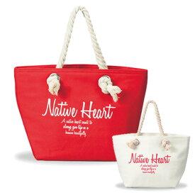 ランチトートバッグ 保冷ランチバッグ Native Heart ( 送料無料 トートバッグ ランチバッグ クーラーバッグ 保温バッグ 保冷バッグ おしゃれ )