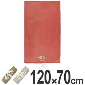 レジャーシート ANCIENT OUTDOOR GOODS 120×70cm S ペグ穴付き ( レジャーマット ピクニックシート ピクニック マット ピクニックマット 敷物 コンパクト クッション 長方形 )