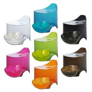 デュロー 風呂イス&湯桶セット クリア ( 送料無料 バスグッズ 風呂椅子 風呂いす 洗面器 おしゃれ 送料無料 )