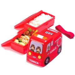 キャラクター立体トミカ弁当箱ランチボックス消防車