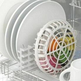 食洗機用小物バスケット 大小セット 便利グッズ ( キッチングッズ 食器洗い 小物カゴ 食洗機用小物かご 小物入れ )