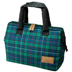 ランチバッグ 保冷バッグ がま口タイプ 2段 L ソフトタイプ トラディションマインド ( お弁当バッグ クーラーバッグ トートバッグ 保冷ランチバッグ 軽量 チェック柄 )