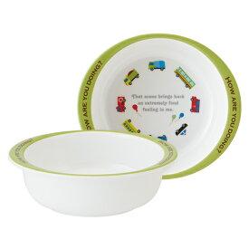 ボウル 13cm メラミン製 カーズ&トレイン 食器 キャラクター 食器 ( 食洗機対応 小鉢 うつわ 器 割れにくい 車 電車 椀 子供 用 子ども 子供 キッズ キッズ食器 )