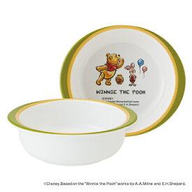 ボウル 13cm メラミン製 くまのプーさん Pooh 食器 キャラクター ( 食洗機対応 小鉢 うつわ 器 割れにくい プーさん 椀 子供 用 子ども 子供 キッズ キッズ食器 )