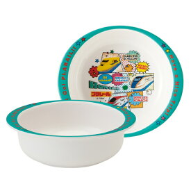 ボウル 13cm メラミン製 プラレール19 食器 キャラクター ( 食洗機対応 小鉢 うつわ 器 トミカ プラレール 椀 子供 用 子ども 子供 キッズ キッズ食器 )