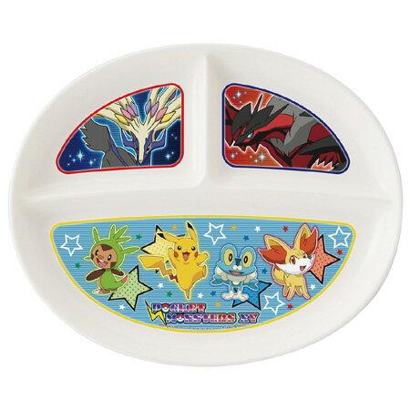 (キャラアウトレット) ランチプレート ランチ皿 ポケットモンスター XY 子供用食器 キャラクター ( ポケモン お皿 プラスチック製 食器 )