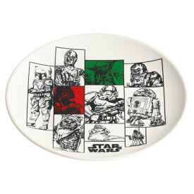 特価 【アウトレット セール】 メラミン皿 スターウォーズ STAR WARS お皿 ( 食器 割れにくい メラミン 皿 プラスチック製 スター・ウォーズ )