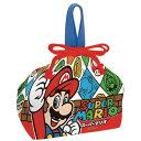 お弁当袋 ランチ巾着 スーパーマリオ 子供用 キャラクター ( 給食袋 ランチボックス巾着 子供用お弁当袋 スーパーマリオブラザーズ )