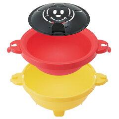 電子レンジ対応オムライスメーカー丸型ミッキーマウスケチャッププレート付き