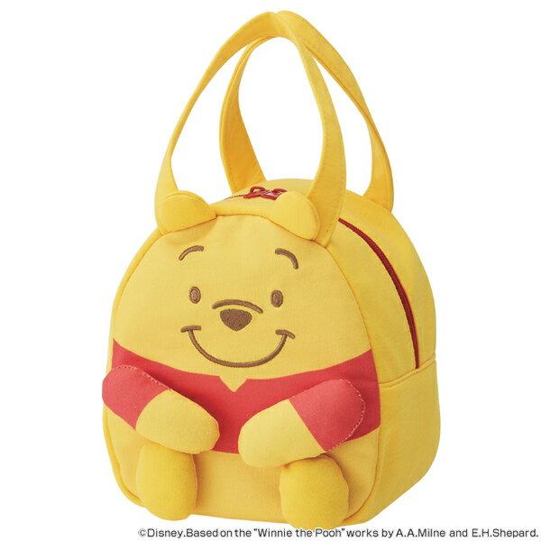 ダイカットバッグ くまのプーさん スケッチ スエット素材 キャラクター ( 子供用カバン スウェット素材 ダイカット かばん 鞄 カバン 子ども用 子供用 プーさん ディズニー )