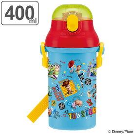 水筒 トイ・ストーリー 子供 キャラクター プラスチック製 ストローボトル 400ml ( 軽量 幼稚園 保育園 プラスチック ストロー プラ製ストローボトル 子供用水筒 ダイレクトボトル マグボトル すいとう 直飲み 子供用 )
