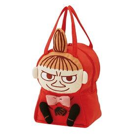 ダイカットバッグ リトルミイ ミイ ムーミン スエット素材 バッグ かばん キャラクター ( 子供用カバン 子供 スウェット素材 鞄 ダイカット カバン 子ども用 子供用 キッズ 持ち手付き ランチバッグ お弁当バッグ ちびのミイ みい )