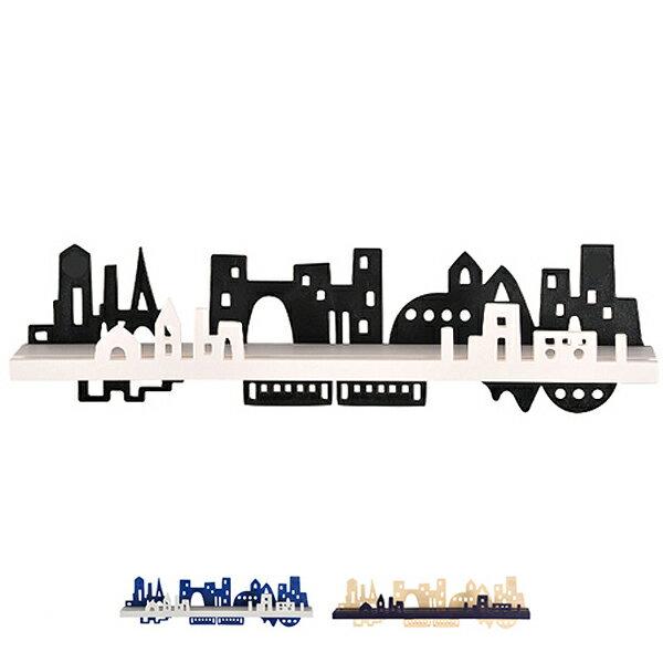 ウォールデコ シティ ( ウォールディスプレイ 壁掛け 収納 インテリア ウォールケース アクセサリーツリー ジュエリーハンガー )