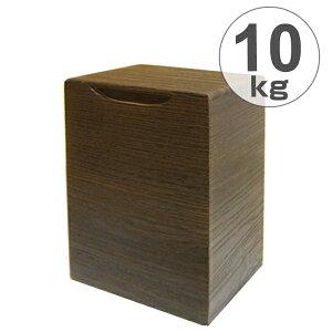 米びつ 桐製 10kg 縦型 焼桐 ( 送料無料 米櫃 ライスボックス ライスストッカー 10kg用 10キロ 桐 和風 桐製米びつ お米 収納 キッチン収納 ストッカー 保存 キッチン こめびつ )