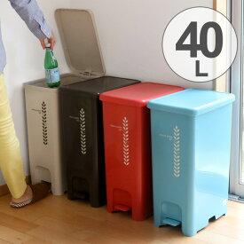 ゴミ箱 ふた付き ペダルペール 40L ( ごみ箱 ダストボックス ダストBOX ペダル式 おしゃれ 屑入れ キッチン )