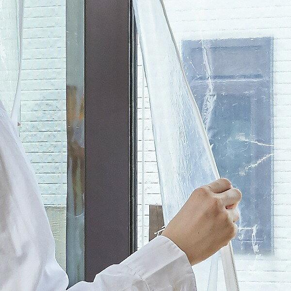 開閉できるサッシまるごと冷気ガードシート ( 保温 省エネ 窓 窓ガラ 暖房 エコ 節電 ECO 網入り 複層 サッシ )