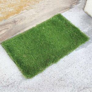玄関マット 屋外 GRASS MAT RECT ( 屋外用マット 芝生マット グラスマット エントランスマット 人工芝  )