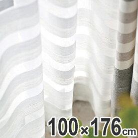 レースカーテン スミノエ コルネ クーシュ Couche 100×176cm ( カーテン レース 柄 洗える 既成 ウォッシャブル 日本製 ボーダー )