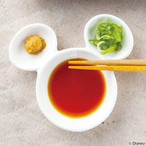 醤油皿 ミッキーマウス 薬味皿 仕切り皿 磁器 食器 ...