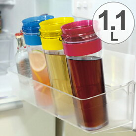 冷水筒 スリムジャグ 1.1L 横置き 縦置き ( ピッチャー 冷水ポット 麦茶ポット ピッチャー 冷水ポット 麦茶ポット キッチン用品 水差し 耐熱 1リットル )