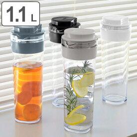 冷水筒 スリムジャグ 1.1L 横置き 縦置き 耐熱 日本製 当店オリジナル商品 ( ピッチャー 麦茶 冷水ポット 麦茶ポット 水差し 耐熱 熱湯 約 1リットル プラスチック )