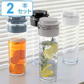 冷水筒 スリムジャグ 1.1L 横置き 縦置き 耐熱 日本製 同色2本セット 当店オリジナル商品 ( ピッチャー 麦茶 冷水ポット 麦茶ポット 水差し 耐熱 熱湯 約 1リットル プラスチック )