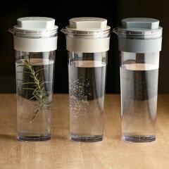 冷水筒スリムジャグ1.1L横置き縦置き耐熱日本製同色2本セット