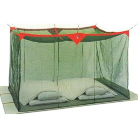 片麻蚊帳(かや) 6畳 グリーン 送料無料