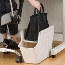 収納トレー ゴミ箱 鞄が置けるくず入れ デスク下 オフィス トレー ラック ( デスク下収納 収納ラック バッグ 鞄 収納…
